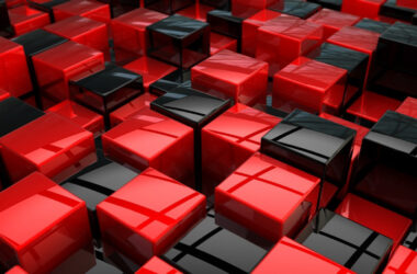 Black-and-Red-Cubes-Wallpaper