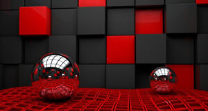 Free-Download-Red-and-Black-3d-Wallpaper