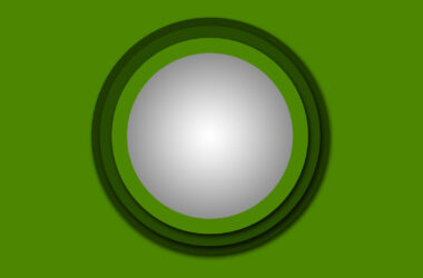 Green Circle Background Free Download