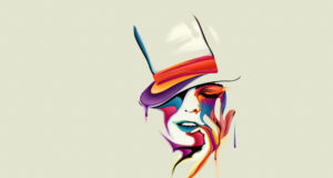 Abstract-Art-Face-Image