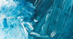 Abstract-Blue-White-Painting-Wallpaper