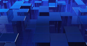 Blue-Glass-Cubes-Background