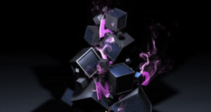 Cubes-and-Smoke-Background