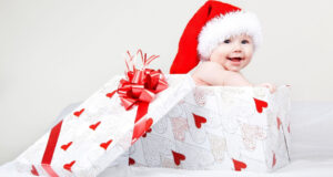 Cute-Baby-in-Gift-Box-Image