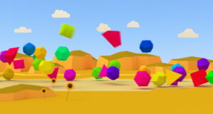 Geometric-3d-Colorful-Shapes-Background