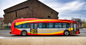 Red-Gray-Yellow-Bus-Wallpaper