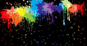 Colorful-Spots-Background