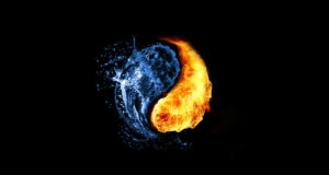 Water-Fire-Abstract-Background