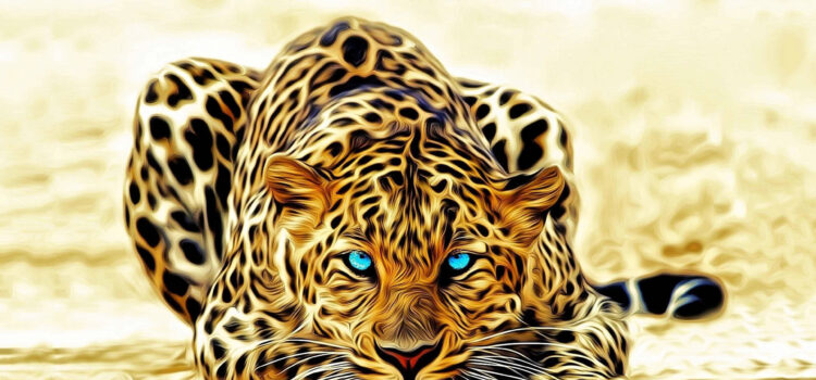 3d-Leopard-4k-Wallpaper