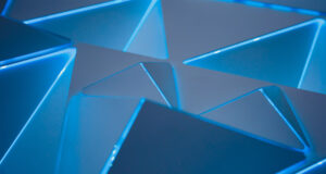 Blue-Triangles-3d-Pattern-Pic
