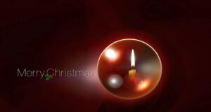 Merry-Christmas-with-Candle-Image