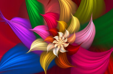 Colorful-3d-Flower-Art-Pic
