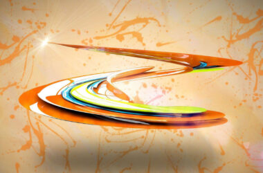 Colorful-Paint-Swirl-3d-Pic