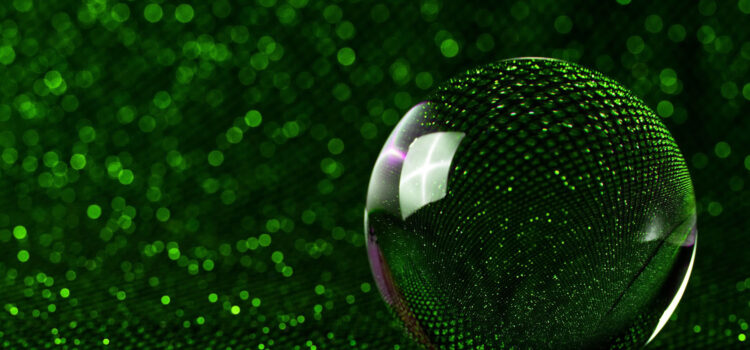 HD-Green-Glass-Sphere-Wallpaper