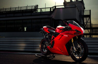 Red-Ducati-Motorcycle-Pic