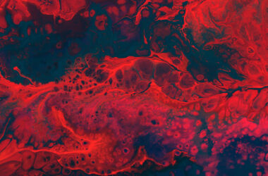 Red-and-Blue-Abstract-Art-Image