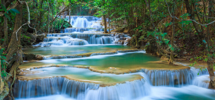 Waterfall-in-Forest-Full-HD-Pic