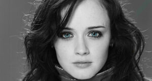 Alexis-Bledel-Black-and-White-HD-Image