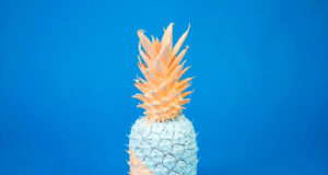 Color-Paint-on-Pineapple-HD-Image