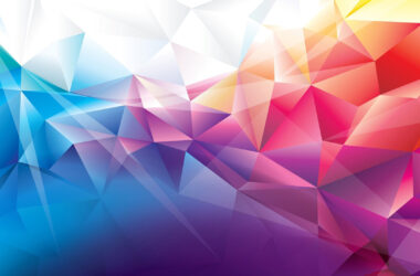 Colorful-Polygons-HD-Wallpaper