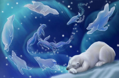 Sleeping-Polar-Bear-Pic